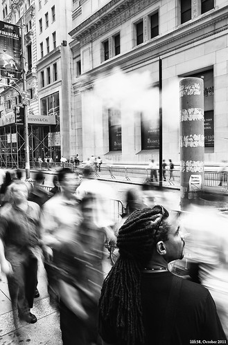 Wall Street Stillness & Motion by LilFr38