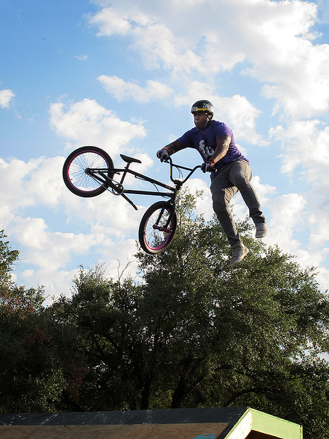 RBMX Getting Air