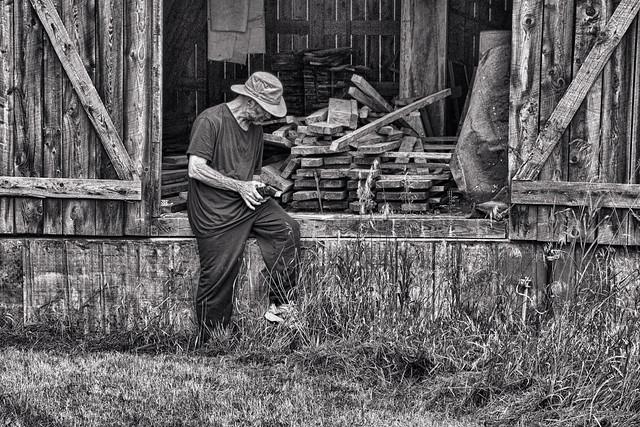 The Man, His Barn, and His Camera