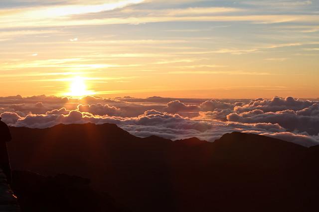 Haleakala Volcano Crater Sunrise, Maui