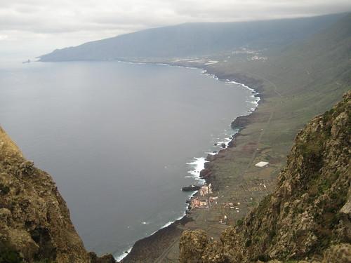 El Golfo desde el Mirador de Bascos