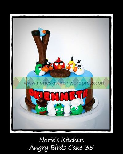 Norie's Kitchen - Angry Birds Cake 35 by Norie's Kitchen