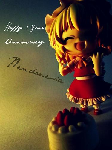 Nendonesia's anniversary greeting by CinnamonFox (via MFC)