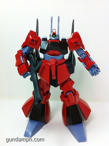 MG Rick Dias Quattro Custom RED Review OOB Build (43)