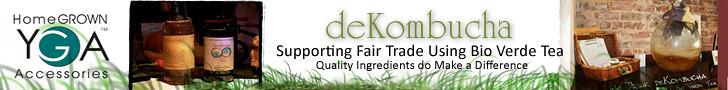 deKombucha Health Tea Banner