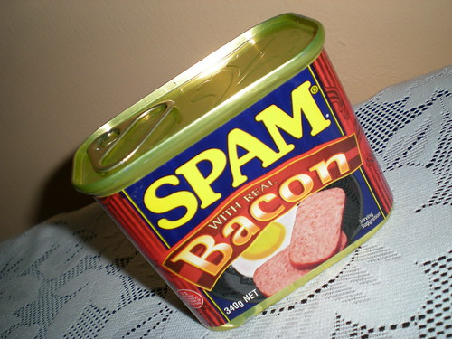 SPAM with real bacon