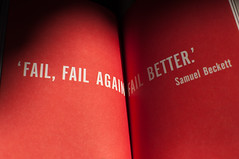 Fail, fail again fail better