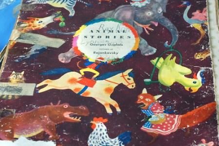 vintage children's book animal stories