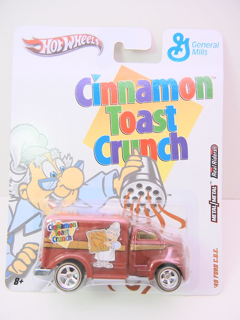 hot wheels nostalgia cinnamon toast crunch '49 ford c.o.e. (1)