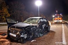 Tödlicher Geisterfahrerunfall A3 Niederseelbach 05.11.11