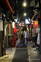 Evening at Kabukicho, 蕪木著