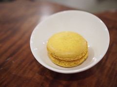 Yuzu macaron,Smitten Coffee & Tea Bar, The Quayside, Robertson Quay