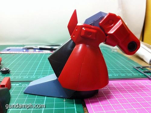 MG Rick Dias Quattro Custom RED Review OOB Build (38)
