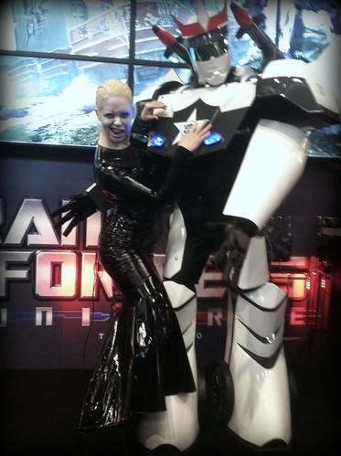 Dr. Mercury Loves Robots
