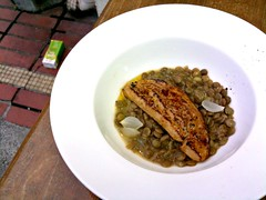 foie gras on bed of lentils. Saveur, Ali Baba Eating House, East Coast Road, Joo Chiat