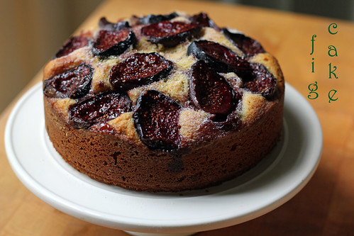 a fig cake for fall
