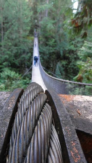 Cable of suspension bridge