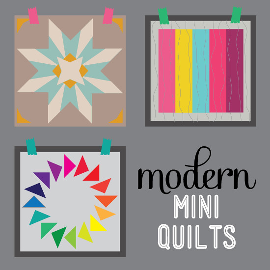 Modern Mini Quilt button