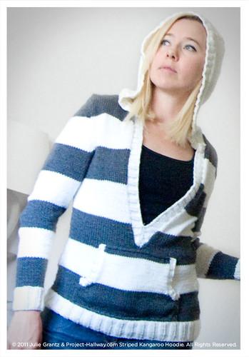 Kangaroo Hoodie Knitting Pattern : Striped Kangaroo Hoodie Knitting Pattern Tarnished ...