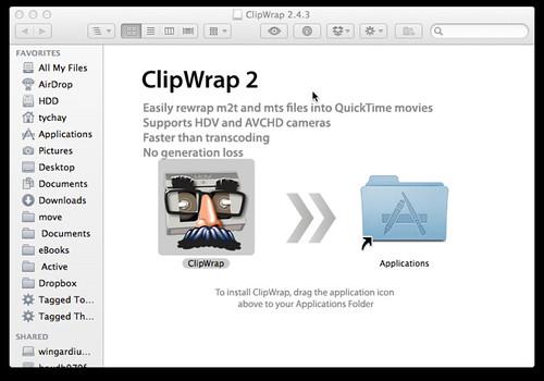 ClipWrap diskimage