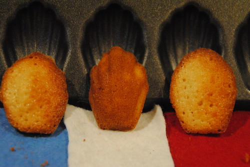 Vive les madeleines!