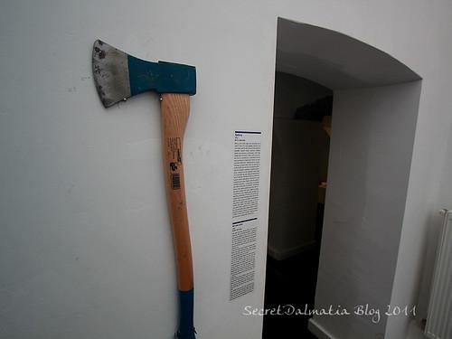 An ax...