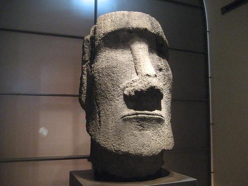 Moai at the Louvre, Paris