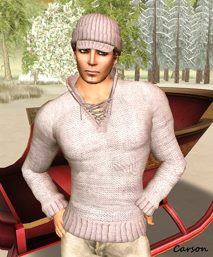 sf designs - Lace up Sweater Jacket, Jeep Cap and color change Hat Hair