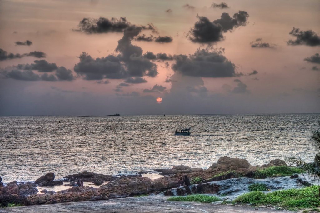 View from Velankni Rocky Beach