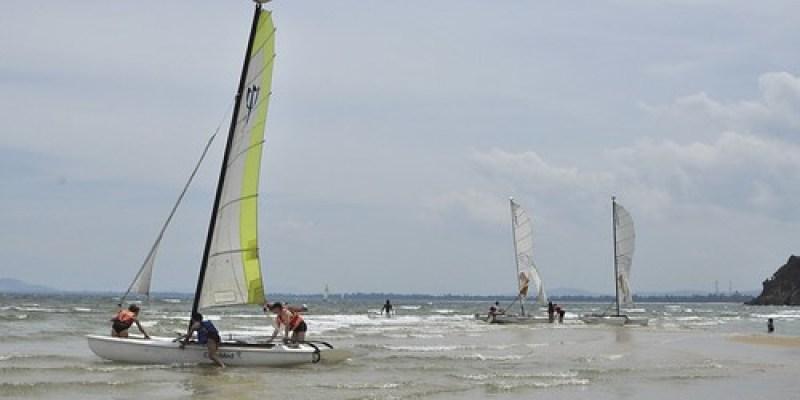 【Video】Club Med珍拉汀灣:風帆與香蕉船(7.2ys)