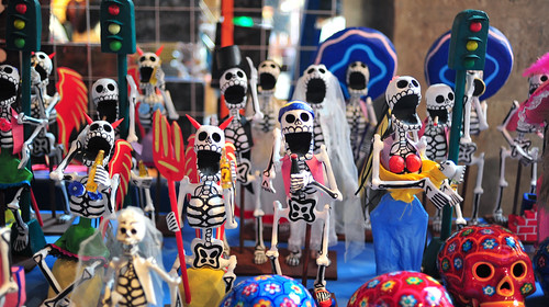 Ramping up for Dia de los Muertos.
