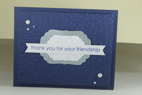 2011 WORLD CARD MAKING CONTEST -Thank You by kimba7669