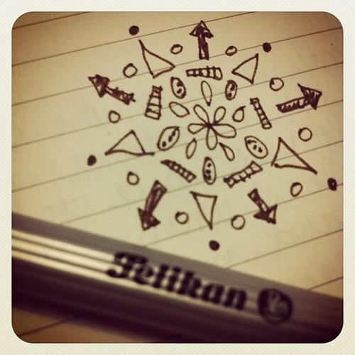 #aedm #aedm2011 journal doodle
