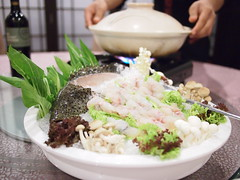 Raw seafood + hot pot. Seafood International, Playground @ Big Splash.