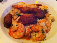 Chicken & Tiger Shrimp with Plantains - Havana Central