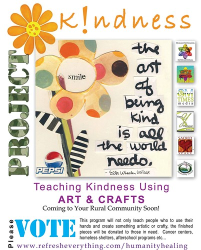 Project Kindness : Teaching Kindness Using Art & Crafts by deZengo