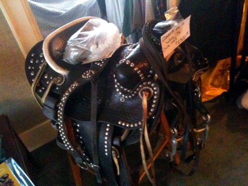 Estate sale saddle