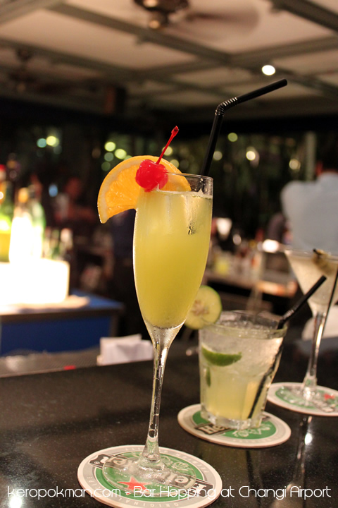 Changi Airport - Harry's Bar