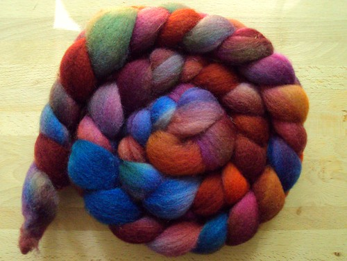 The Uncommon Thread superfine Shetland in Burnt