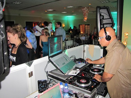DJ Mike of MB Entertainment keeping guests dancing all night!