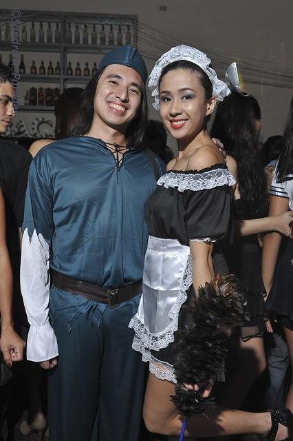 Anton Osmena and Kate Alvarez