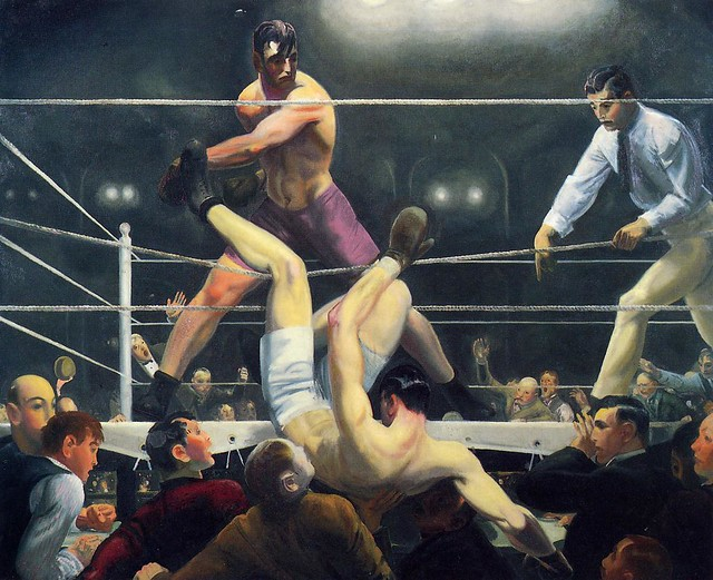 George Bellows, Dempsey and Firpo, 1924.