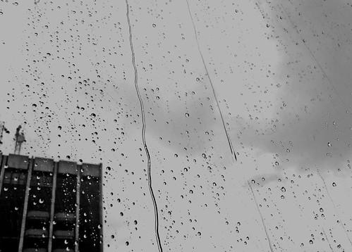 The rain's gonna wash away