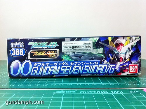 SD 00 Gundam Seven Sword G Review OOB Build GundamPH (5)