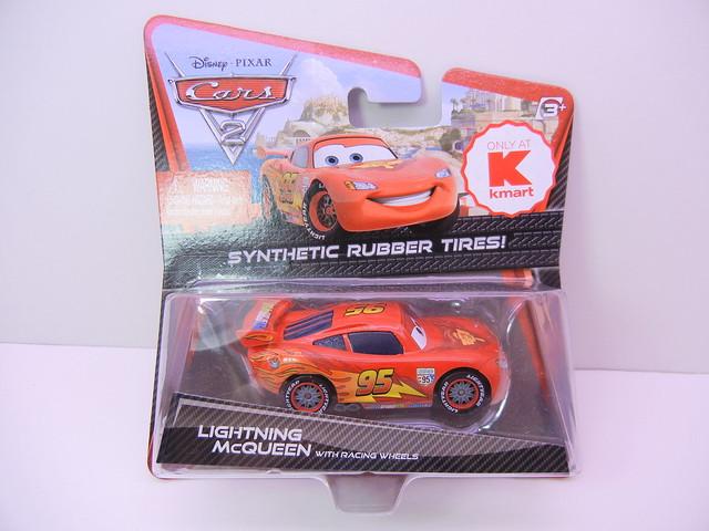 disney cars 2 kmart collector event #7 lightning mcqueen
