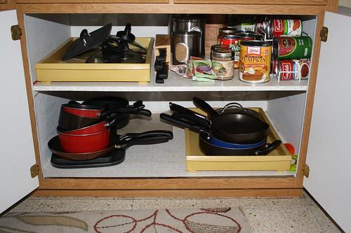 organized cabinets 2