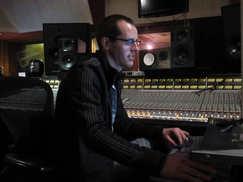 Sound engineer Jared