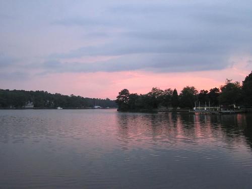 Sunset in San Domingo Creek