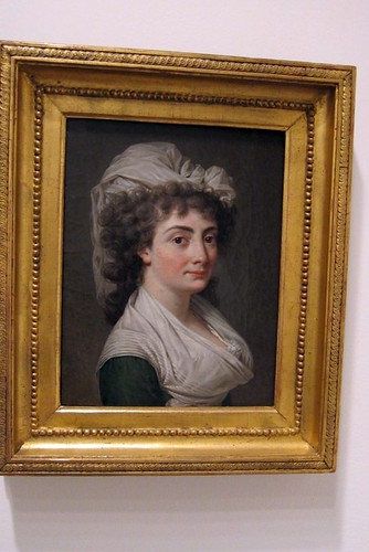 Adelaide Labille-Guiard 1790 oil portrait of an unknown woman