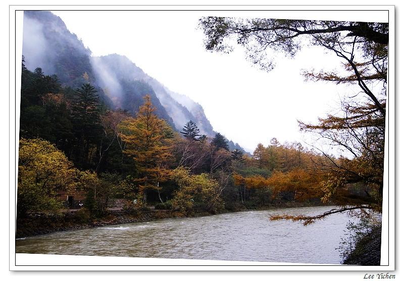 LeeYC: 秋天的上高地 ~ 河童橋周邊